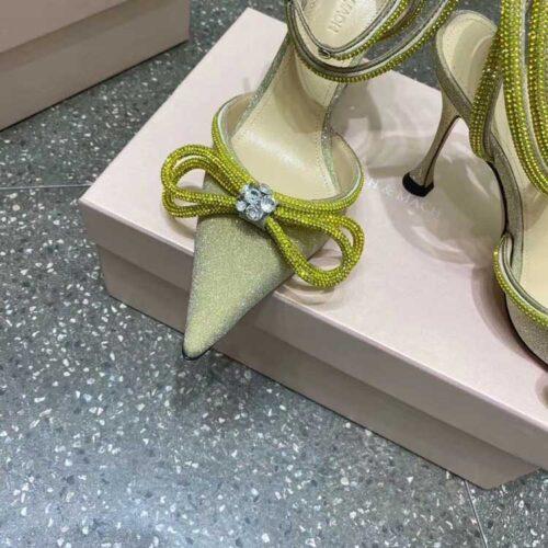 Туфли mach & mach в кристаллах