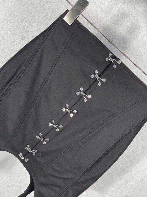 Dion Lee юбка с корсетом