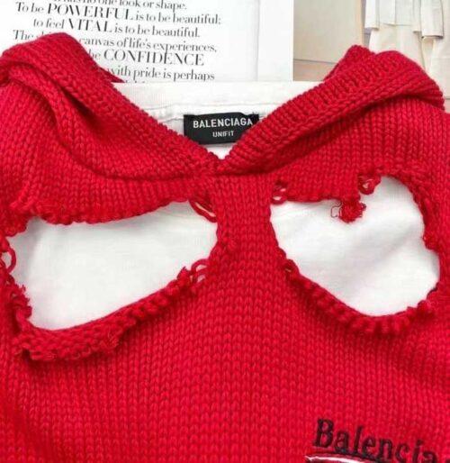 balenciaga свитер